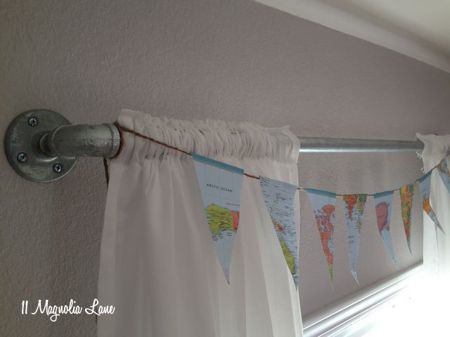 Tutorial: How to Use Pipe Fittings to Make a DIY Curtain Rod