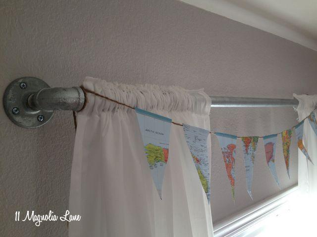 17 melhores ideias sobre Industrial Shower Curtain Rods no ...