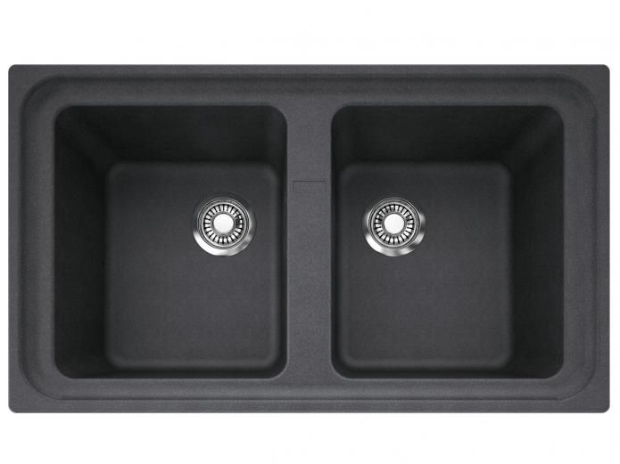 franke impact granite double bowl sink 0th onyx project mf morris kitchen pinterest products sinks and as - Kitchen Sinks Nz