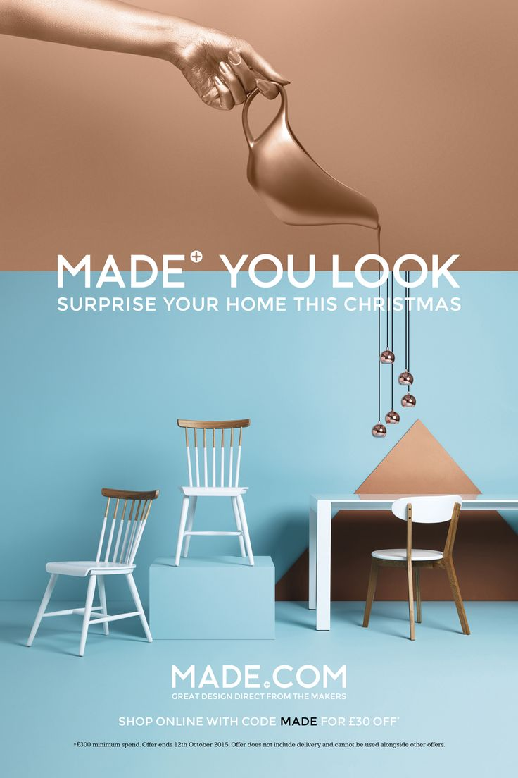 Furniture advertising slogans - Made You Look Christmas 15 Campaign Retouching On Behance Advertising Pinterest Behance And Visual Advertising