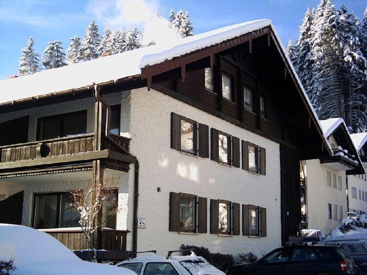 Ferienwohnung Bauch  Oberstaufen  - Unsere Wohnung ist im 1. OG mit 2 Balkonen