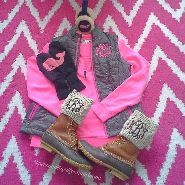 Really, monogram boot socks just incase people forget your initials they can check your lower calf, even though your left chest already tells them