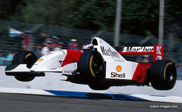 Mika Hakkinen, McLaren-Ford, Adelaide 1993