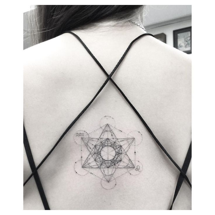 All those lines - Metatron Cube