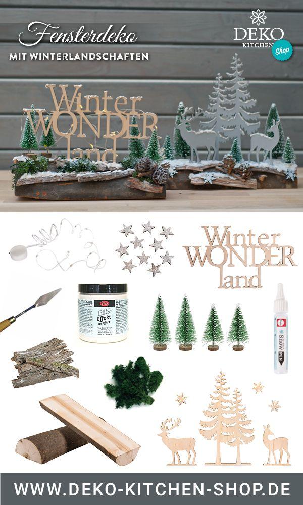 Diy Weihnachtsdeko Windlichter Mit Schneelandschaft