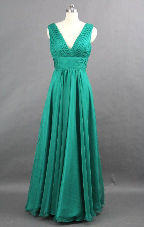 Jade bridesmaid dress