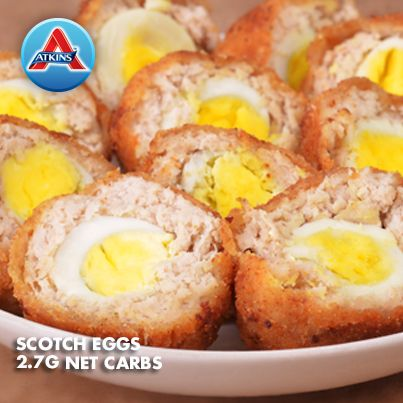 Switch up your normal egg routine with these delicious scotch eggs! Fine for all phases of the plan.