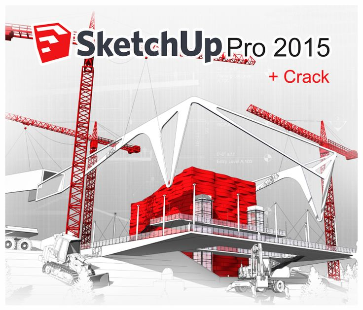 ZENT Design 2D: SKETCHUP PRO 2015 WIN + VRAY 2015 + CRACK - 64 BITS Y 32 BITS