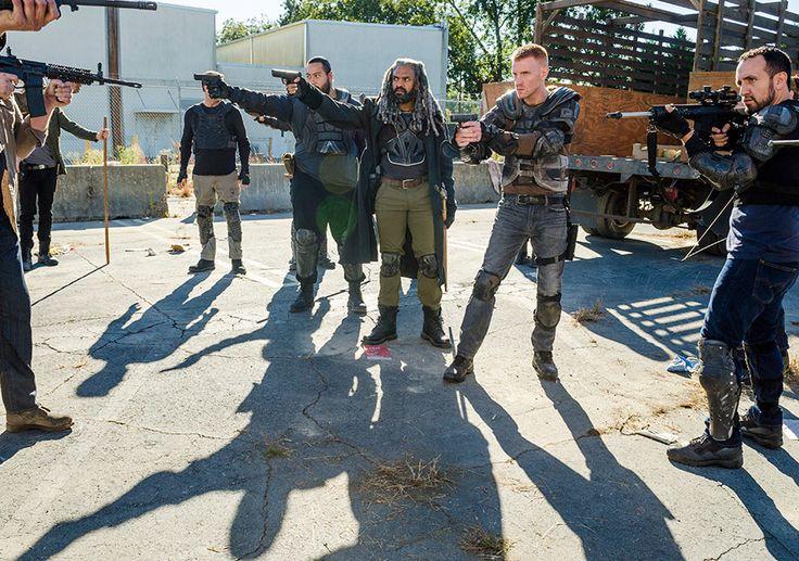 """The Walking Dead Season 7 Episode 13 """"Bury Me Here."""" TWD S07 E13."""