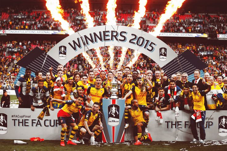 ARSENAL FA CUP 2015 WINNERS