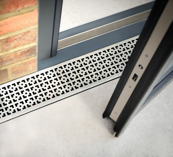 Drainage Feature - Aqualevel is a NEW integrated level access channel drain that works with a range of glazed door systems including sliding, bi fold, and lift & slide.