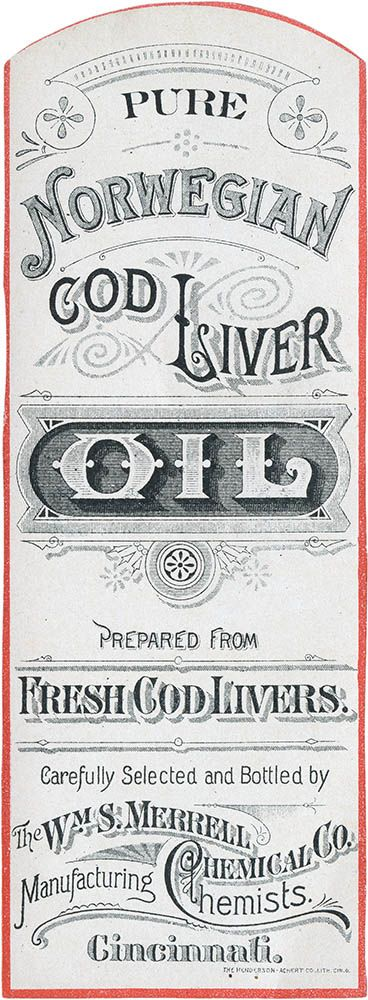 These labels were for William S. Merrell's Bechol family of Pinus Compositus formulations and date to ca.1907–1910.Cod Liver Oil, Vintage Types, Pinus Compositus, Essential Oil, Typography Vintage, Vintage Label, Vintage Letters, Vintage Typography And Labels, Vintage Design