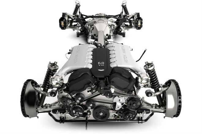 The 2015 Aston Martin Vanquish's Engine