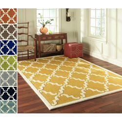 Marvelous NuLOOM Handmade Luna Marrakesh Trellis Wool Rug (6u0027 X 9u0027) By Nuloom