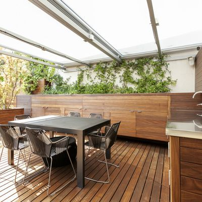 17 mejores ideas sobre terraza cubierta en pinterest - Cubierta para terraza ...