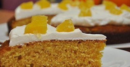 Tort de portocale cu gris pentru diabetici