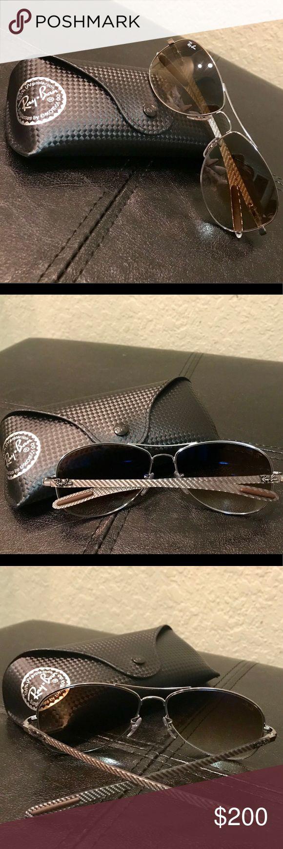 Ray Ban Carbon Fibre Gunmetal Sunglasses Ray Ban Carbon Fibre gunmetal Sunglasses Ray-Ban Accessories Sunglasses