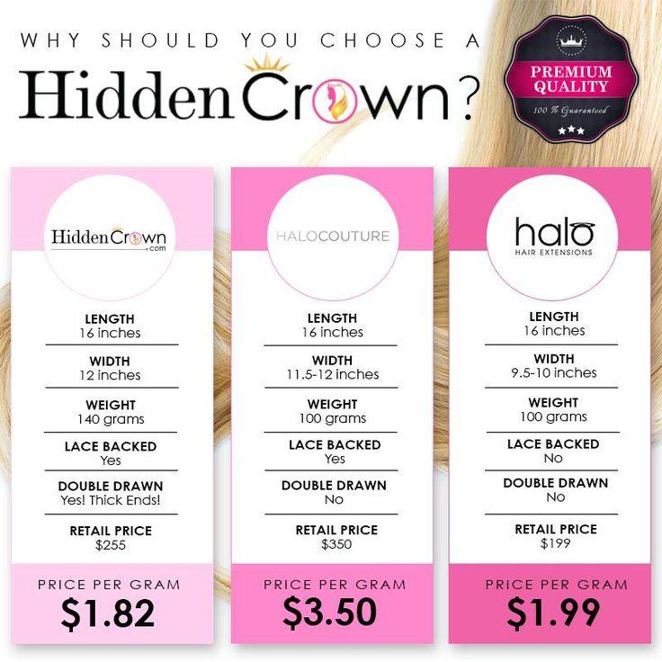 21 best Hidden Crown Hair Extensions images on Pinterest | Crown ...