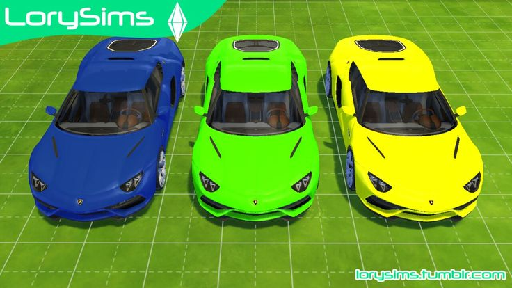 Lamborghini Pack by LorySims This collection of Italian bulls is a must-have for your garages! DOWNLOAD RAR ARCHIVE DOWNLOAD ZIP ARCHIVE It includes 3 posters featuring Elettra Miura, Lamborghini's...