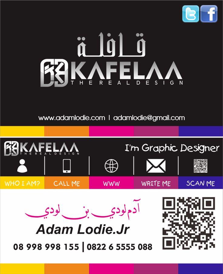 Desain Kartu Nama AdamLodie.Com