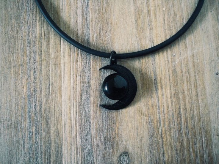 Black Moon and Black Agate Stone Necklace - Moon Choker by KRUELINTENTIONS on Etsy https://www.etsy.com/listing/230491243/black-moon-and-black-agate-stone