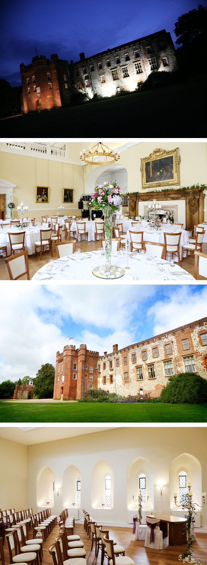 Farnham Castle halloween wedding venue in Surrey | Visit: www.wedding-venues.co.uk