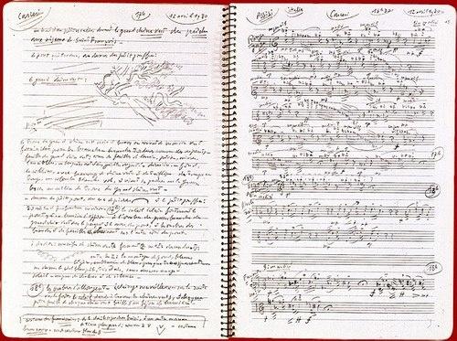 olivier messiaen, notation of birds songs