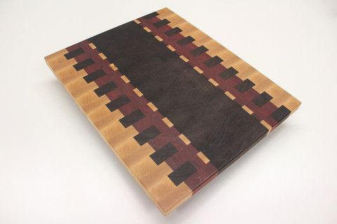 Wenge, Maple and Bloodwood