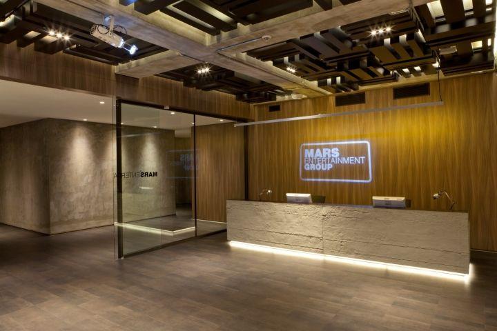 Mar's Entertainment Group's Modern Reception Lobby Design