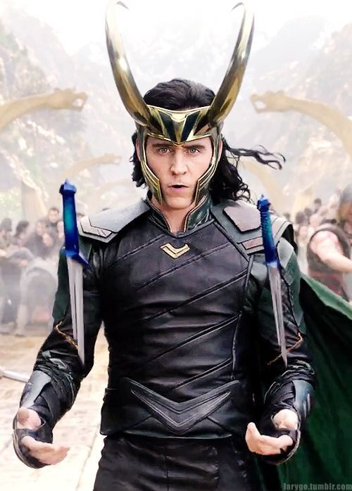 I have to say, one of the things I absolutely love about Loki is he is a courageous warrior king. He's going into that battle not knowing whether he's going to make it out or not. I can tell. His eyes are filled with so much determination, courage and fear. Courage it is not the absence of fear, it's the act of doing what you know has to be done no matter what the outcome is. Loki has a tremendous amount of courage and I admire that. You can see it in his eyes. He may not be coming home…