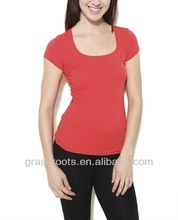 TX0089 2014 Custom T-shirt Womens Blank Red Slim Fit best seller follow this link http://shopingayo.space