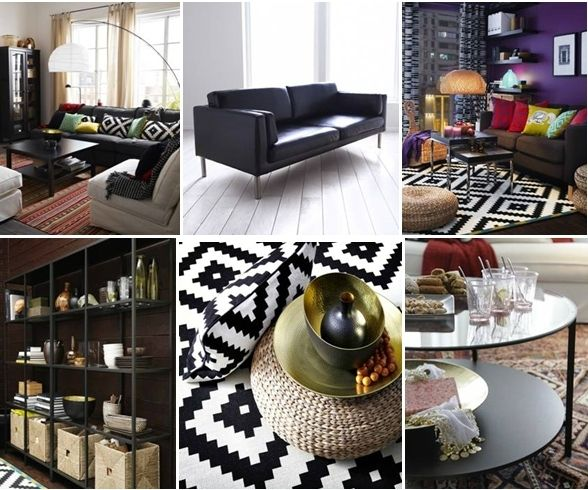 Love all the IKEA ideas to add modern ethnic to a home!