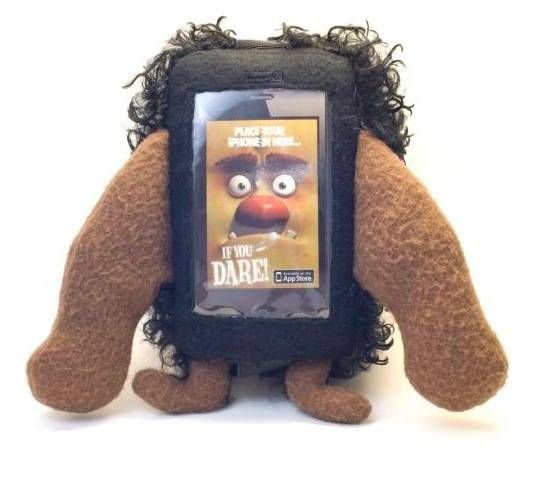 Mugtuk Monster Tim - Kids iPhone 4S Case | A children's app for you iPhone or iPod Touch and an adorable monster case; Tim loves to have fun with his friends! #monsterTim #app #kids #fun #iPodTouch #iPhone4s