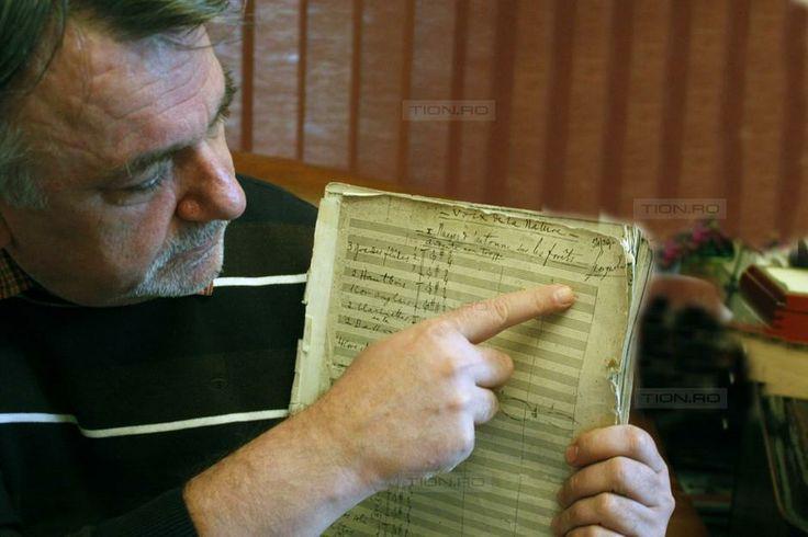 Filarmonica din Timisoara detine doua partituri originale ale lui Enescu
