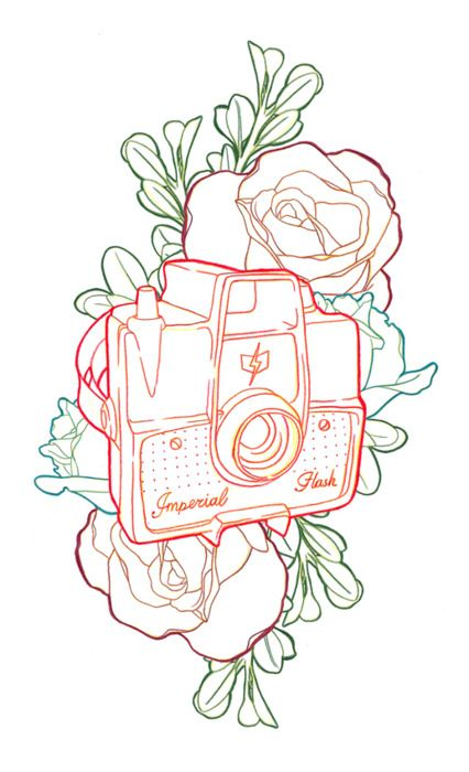 Camera tattoo - this is cute, different camera?