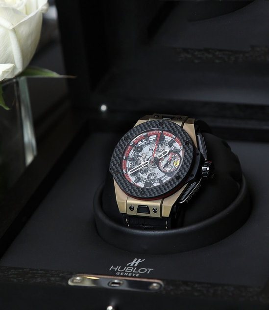 Hublot Ferrari Big Bang watch celebrates Ferrari's 20th anniversary in ChinaLuxury, Chronowatchco Hublot, 20Th Anniversaries, Ferrari Big, Bangs Watches, Ferrari 20Th, Celebrities Ferrari, Chrono Watches, Big Bangs