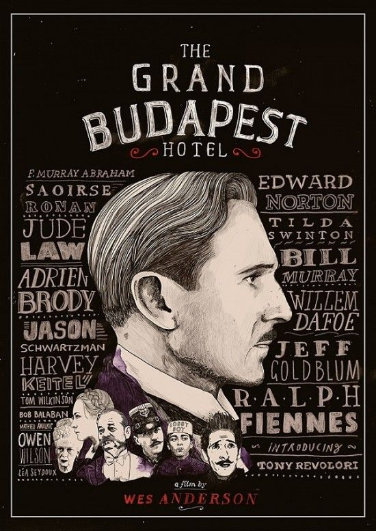 Wes Anderson's 'The Grand Budapest Hotel'.