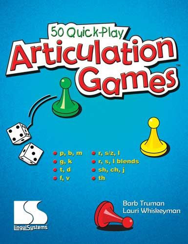 50 Quick Play Articulation Games