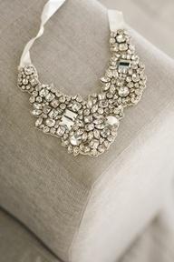 Diamond necklace #bride #jewelry