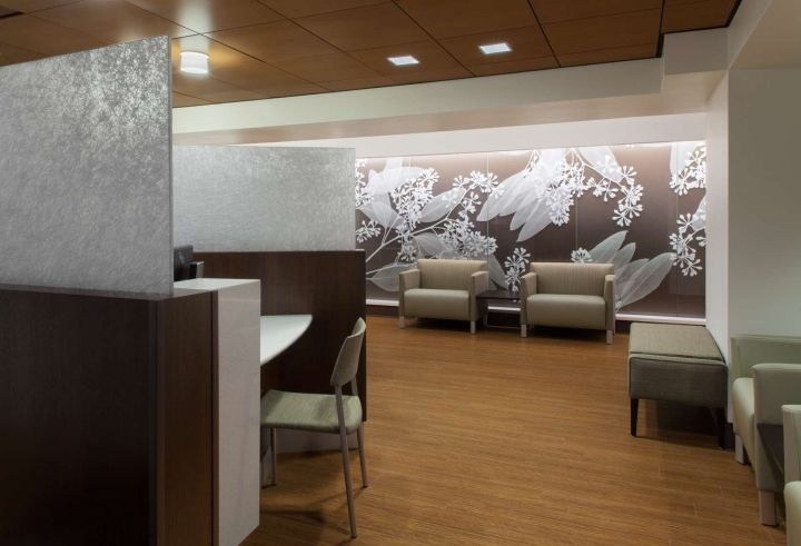 St. Louis University Hospital Bone Marrow Transplant Outpatient Center by Fox Architects, Saint Louis – Missouri » Retail Design Blog