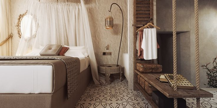 Elafos Suite at Elakati Luxury Boutique Hotel . A room designed for people with disabilities. #Rhodes #Greece