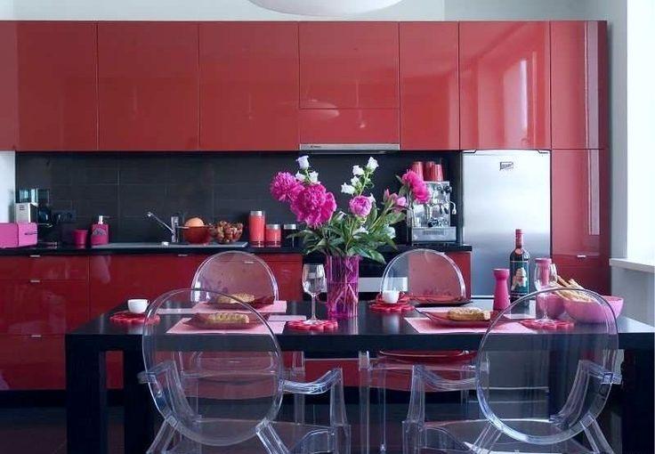 Красная кухня на южной стороне