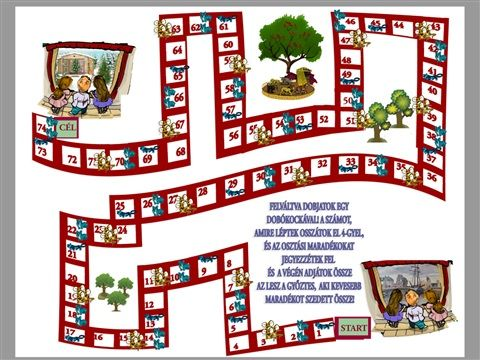 Társasjátékok - www.matekprezi.com