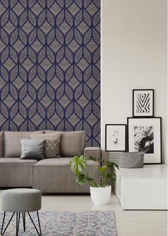 Costello Removable 10 L X 25 W Peel And Stick Wallpaper Roll Peel And Stick Wallpaper Room Interior Design Interior