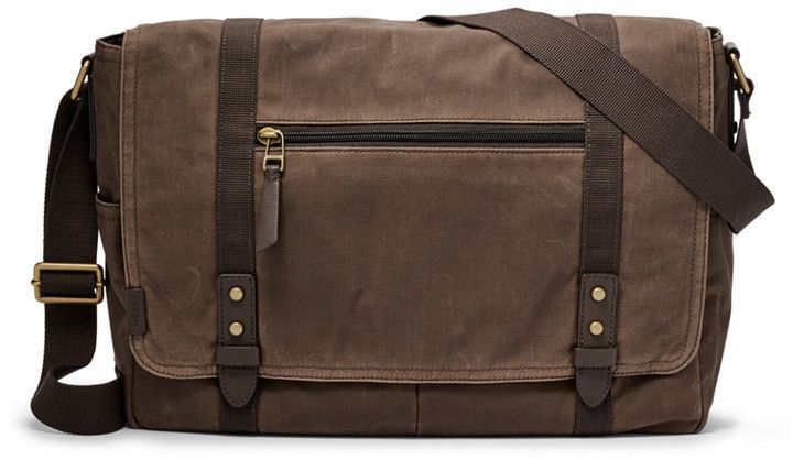 d05c6e0cbecd Fossil Travis Messenger   Products   Love, Messenger bag men, Gifts ...