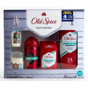 "Old Spice Pure Sport Gift Set with Bonus ""Sports Illustrated"" Subscription for $7"