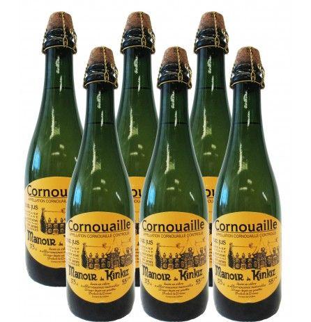 Case of 6 bottles of Cidre de Cornouailles 5.5% 375ml