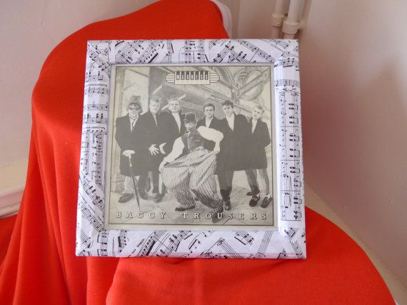 Madness  Baggy Trousers 7 record cover/sleeve in by RevampedUp