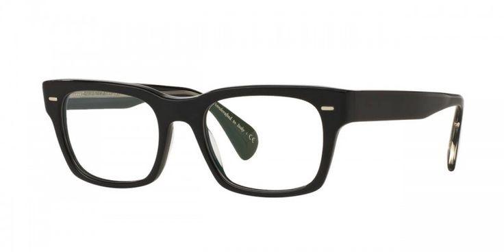Oliver Peoples | Ryce Black Optical Eyewear by Oliver Peoples