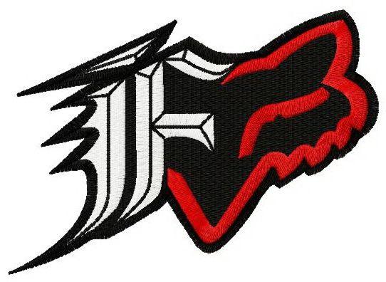 Fox Racing Dakota Logo 2 Embroidery Design Fox Racing Tattoos Fox Racing Racing Tattoos